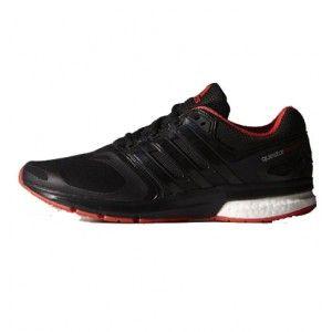 zapatillas running adidas questar boost rojo hombre