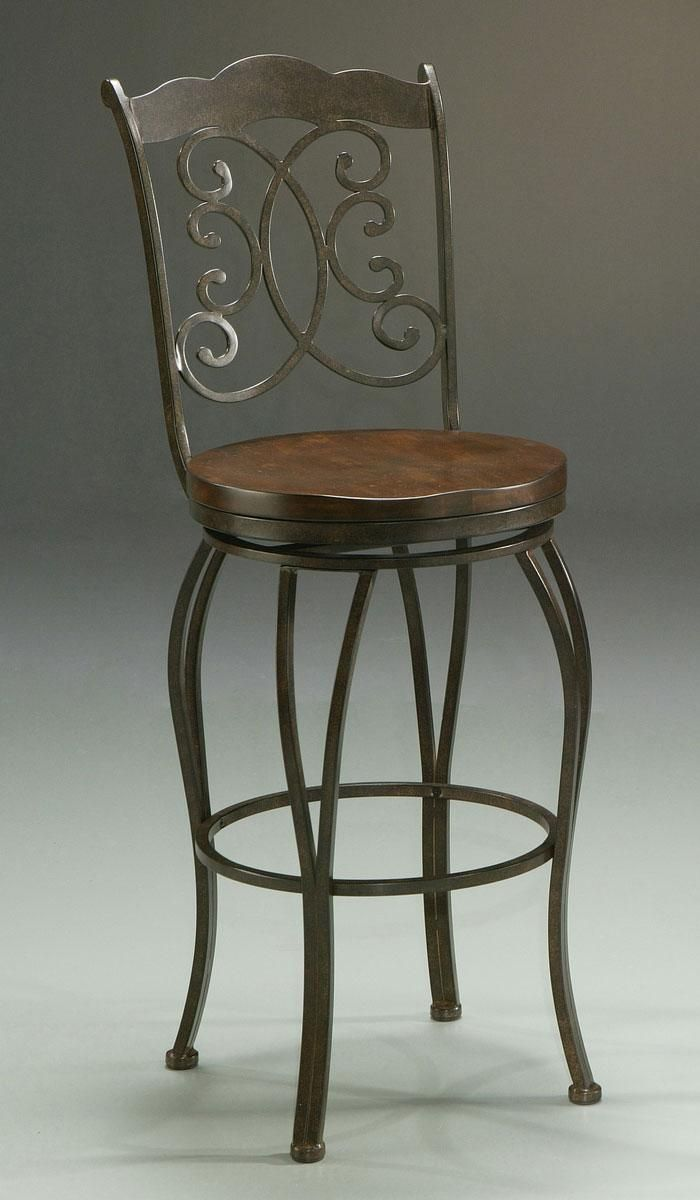Wrought Iron Bar Stool More