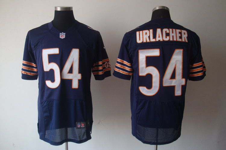 Nike Brian Urlacher Chicago Bears Youth Throwback Game Jersey - Navy Blue