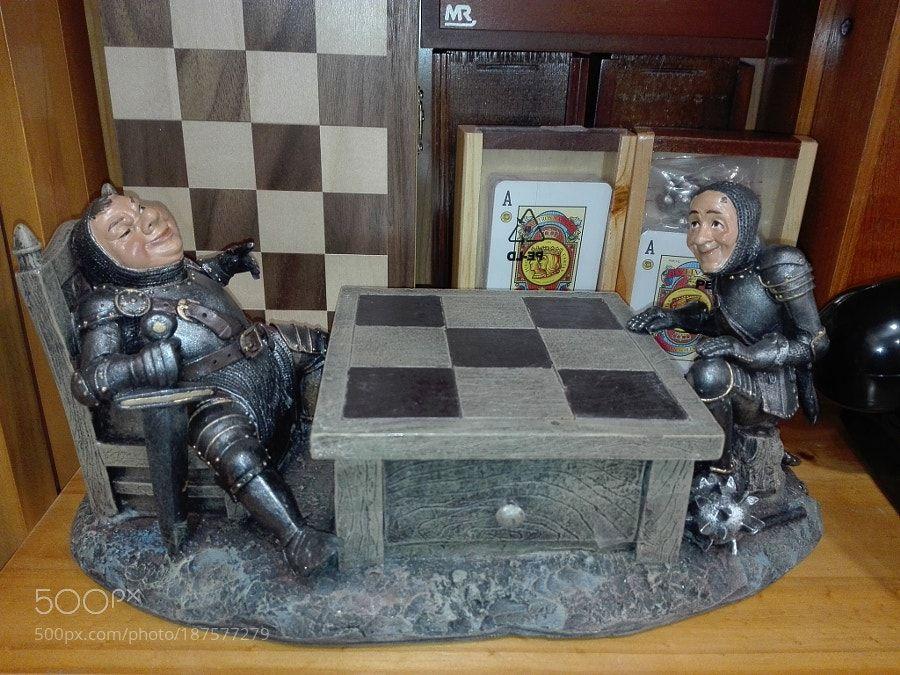 La partida de ajedrez by AlefThau