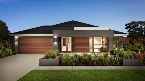 contemporary single story house facades australia  Google Search  Domy  Facade house, Modern