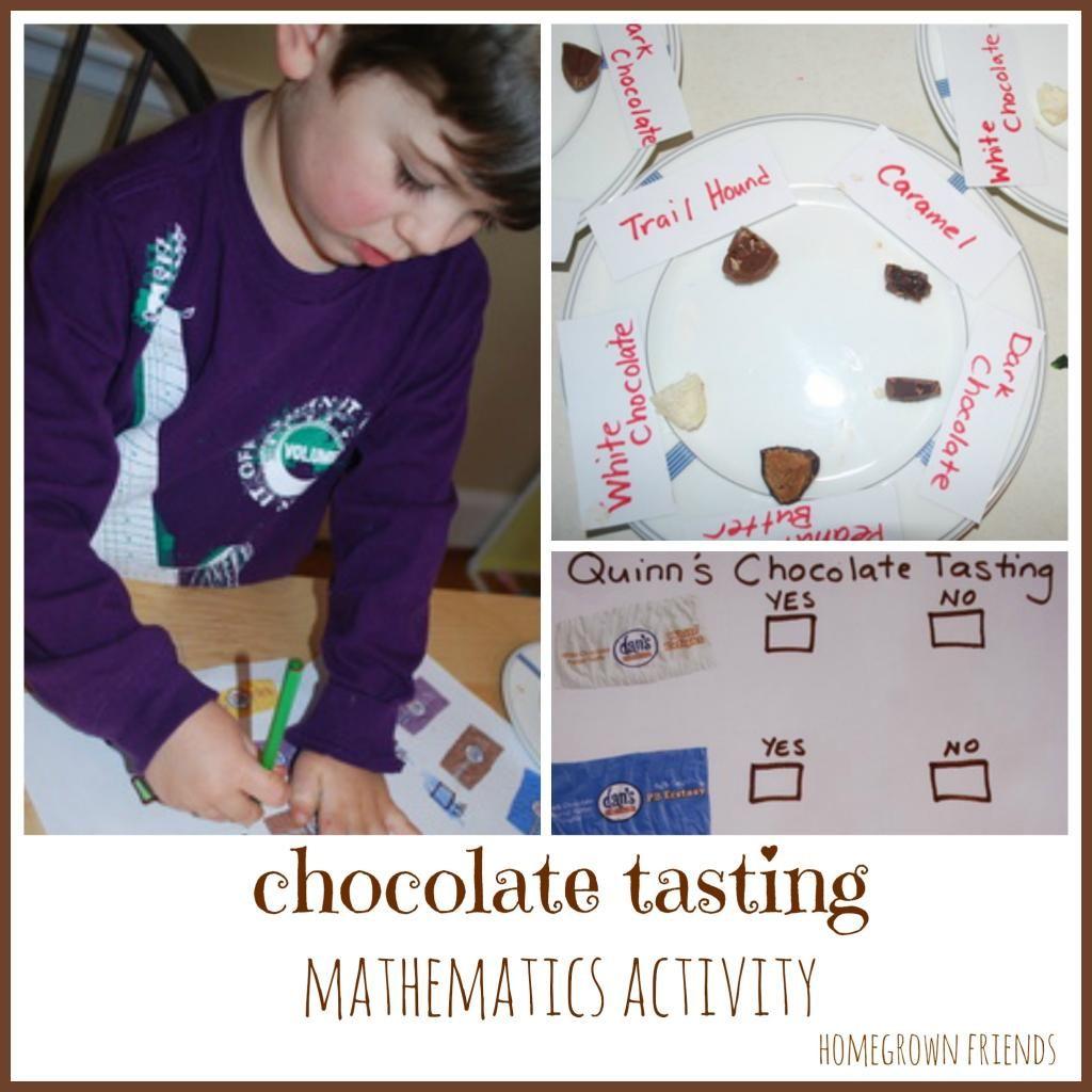 Chocolate Tasting Mathematics Activity Homegrown Friends Mathematics Activities Fun Math Math Activities [ 1024 x 1024 Pixel ]