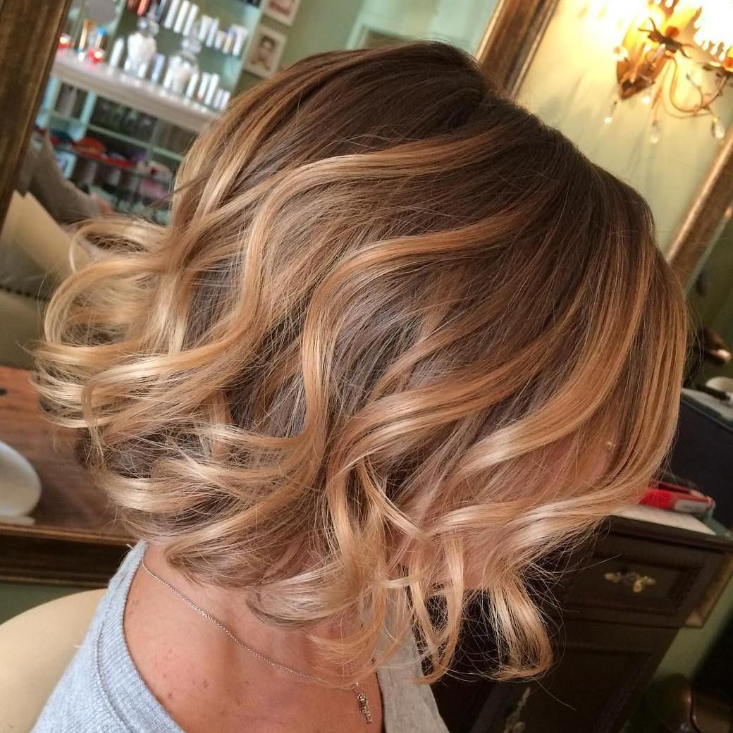 40 On Trend Balayage Short Hair Looks In 2020 Blonde