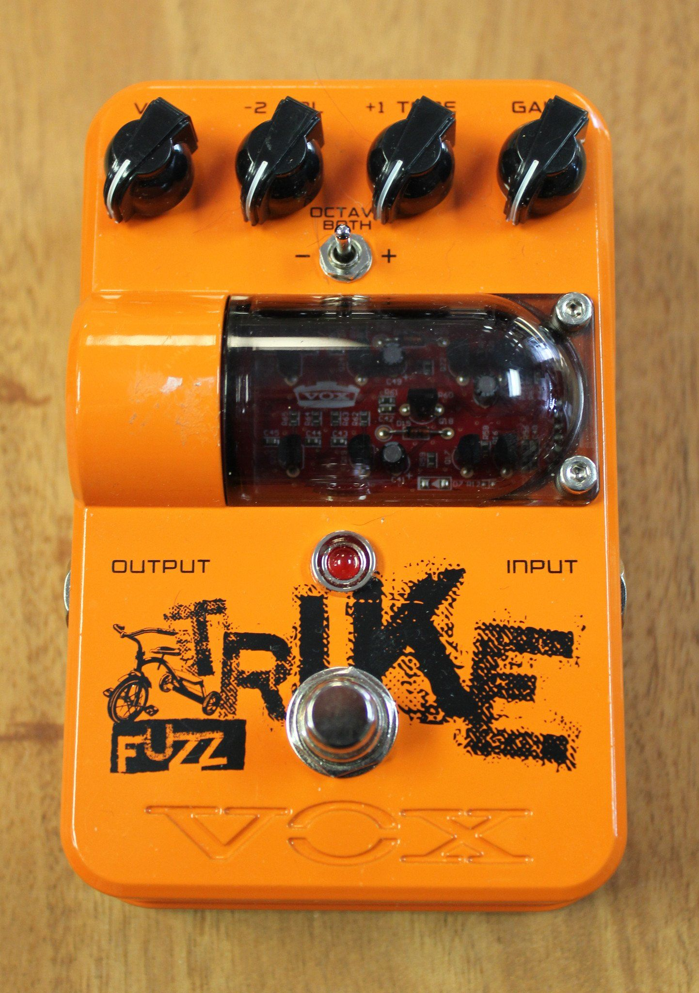 Vox Tone Garage Trike Fuzz Guitar Effects Pedal Used Products Box By All Fet