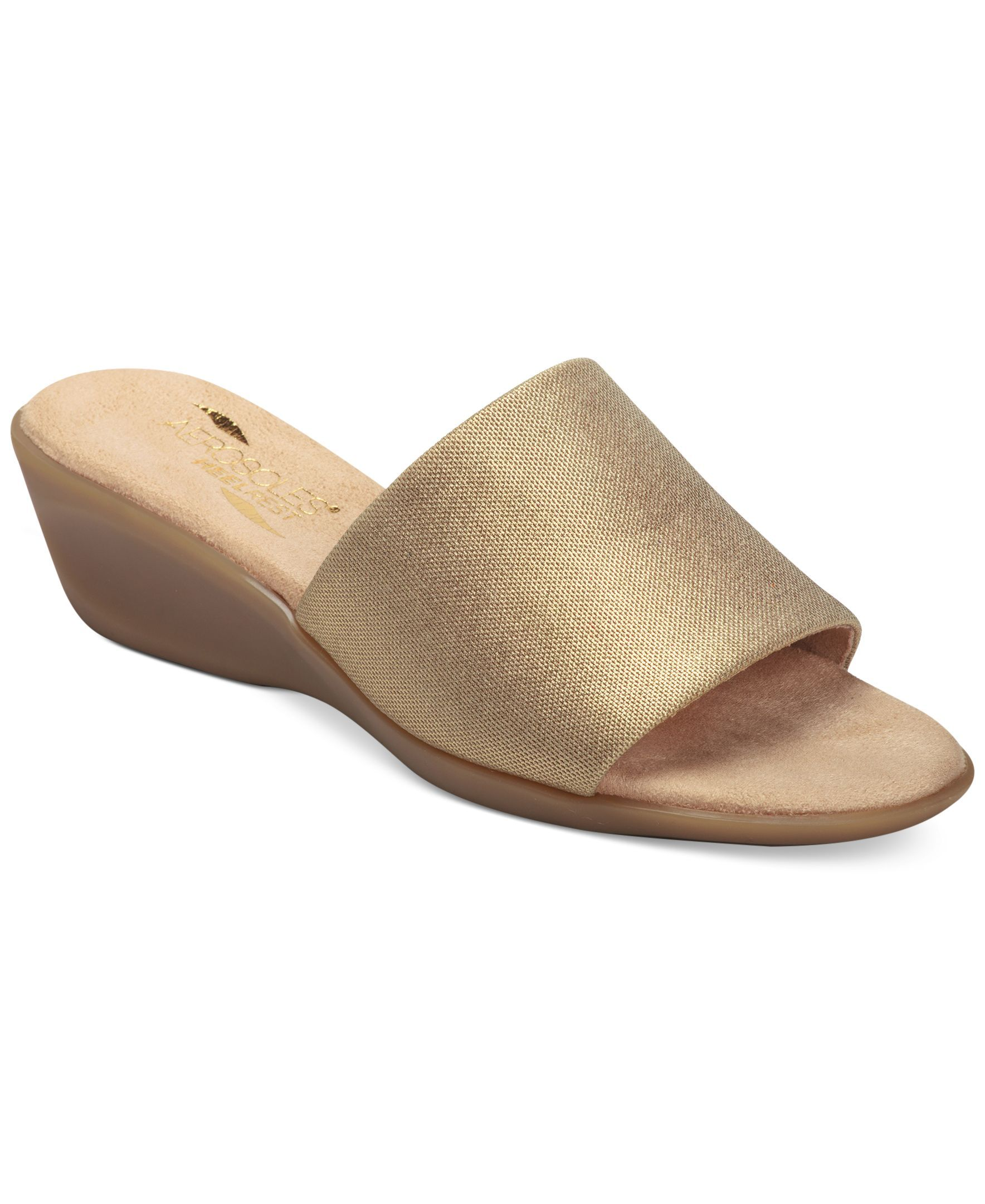 0b9d691645d Pop on this single-band sandal slide and you ve got instant transformation.