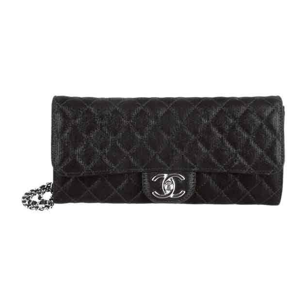 Chanel Metallic Bag Black East West Quilted Cc Classic Flap Le Marais Handbag Brand