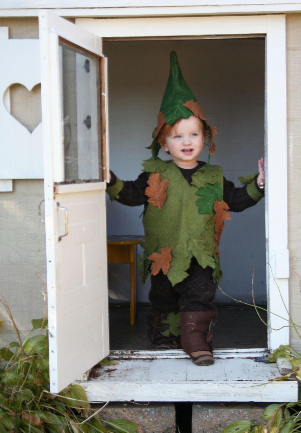 an oak tree elf Tree costume, Elf, Elf costume