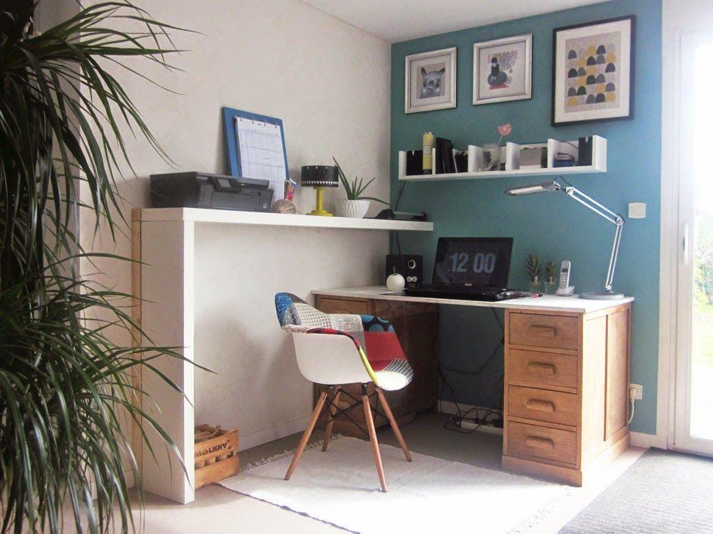 Ameliorer L Espace Bureau Au 303 Home Deco Tuto Diy Recup Systeme D Espaces Bureau Deco Chambre Deco Maison