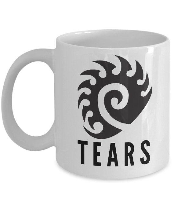 Starcraft Mugs Starcraft 2 Mugs Terran Mug Zerg Mug Protoss Mug