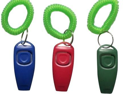 Dog Training Clickers Bafx Products Tm Pack Of Three 2 In 1 Dog