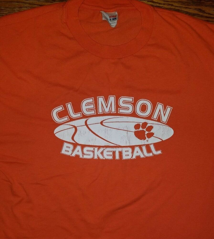 281c1071f0d Vintage Clemson Tigers shirt Adult XL Orange Carolina NCAA National  Champions  Hanes  ClemsonTigers