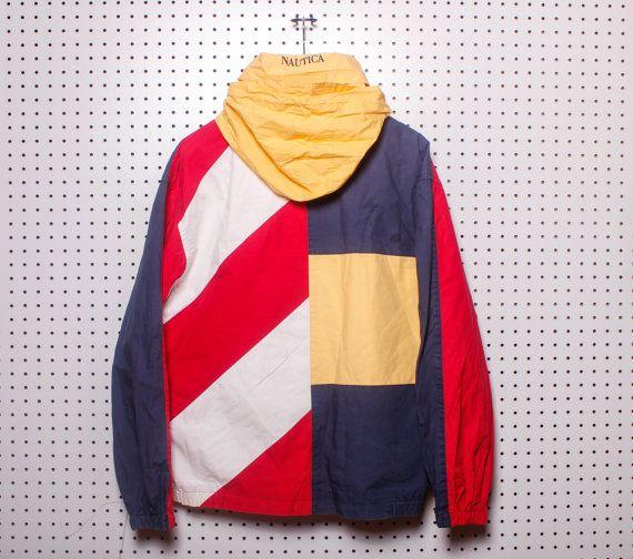 Vintage NAUTICA 90s Sailing Jacket XL by PermanentWaveVintage