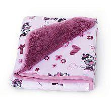 Minnie Mouse Velour/Sherpa Blanket by Kids Line, http://www.amazon.com/dp/B005I5F0H0/ref=cm_sw_r_pi_dp_8jC7pb0GYAM79