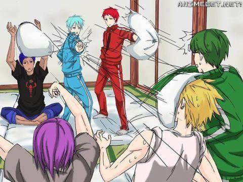 Cuscini Manga.Bitwa Na Poduszki