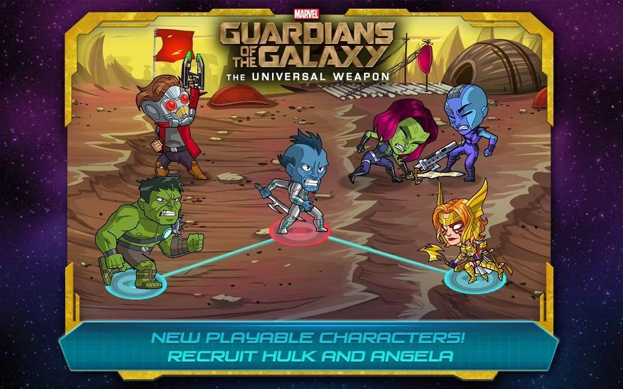 Game Guardians of the Galaxy TUW 1 3 Apk Mod Unlimited Money