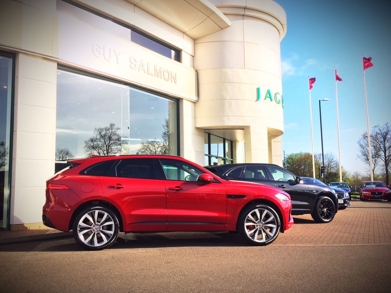 F pace experience is here the all new jaguar