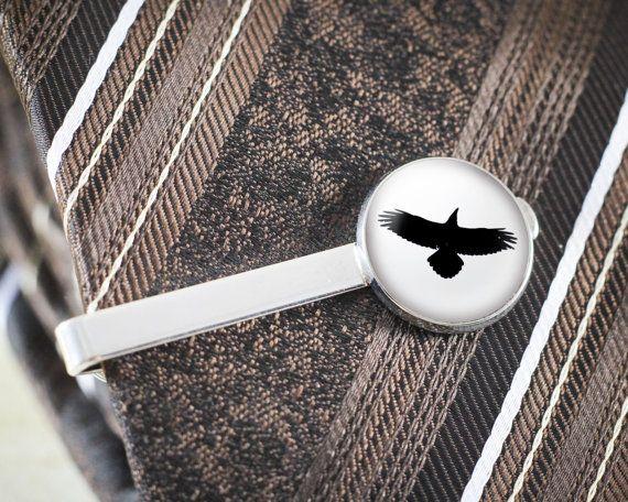 Silver spoon tie clip man tie clip wedding gift