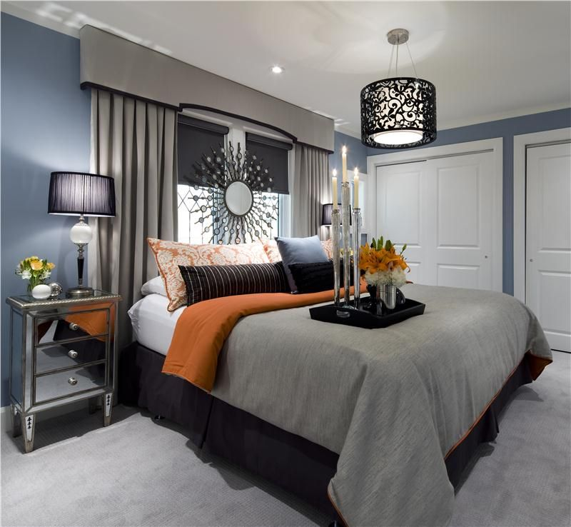 We love this modern bedroom that could easily work for all types of ...