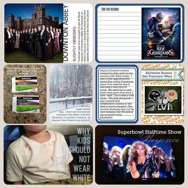 Peterson Stories: Project Life Update (a.k.a...massive photo dump)