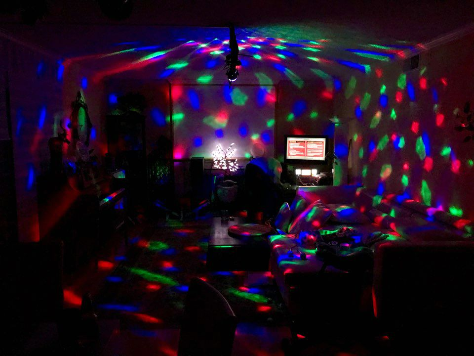 Instant Party Light Projector 5 Mood Lights Party Lights Mood Light
