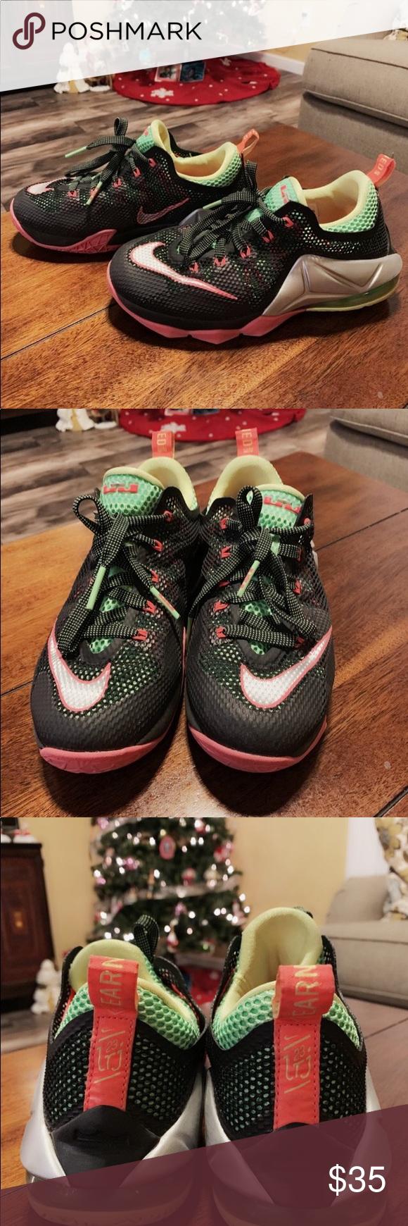 premium selection a656e 61a49 Kids Lebron James basketball shoes Size 4.5 kids Lebron James basketball  shoes Nike Shoes Sneakers