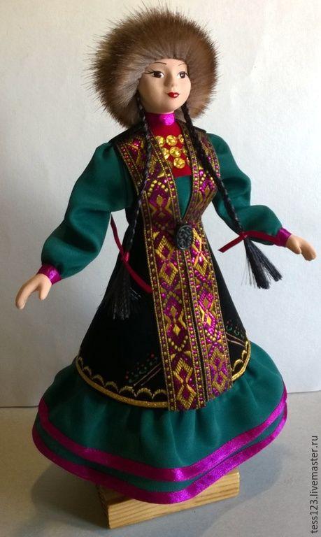 #bashkirskaya kukla, #Кукла Айсылу в башкирском ...