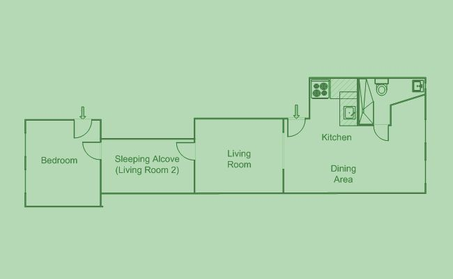 Image Result For New York Railroad Apartment Riverside