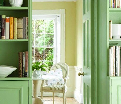 Pea Green Paint Dining Room Little Greene