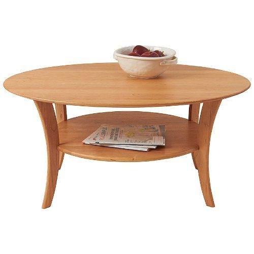 manchester wood oval cherry coffee table natural cherry home rh pinterest com