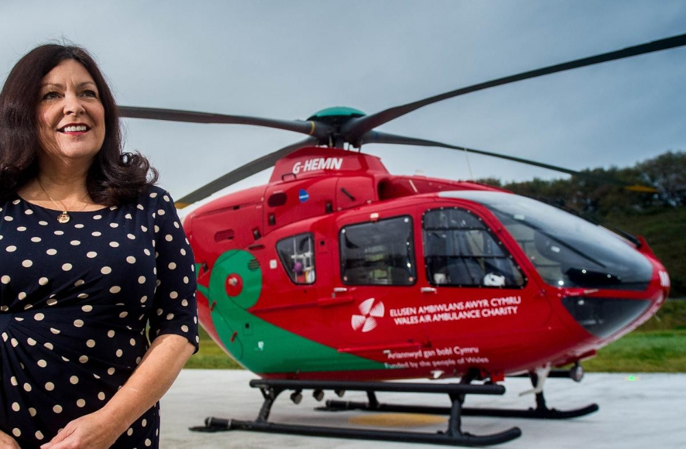 OBE for Wales Air Ambulance Charity CEO (With images
