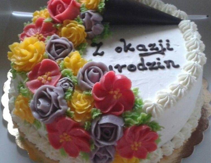 Z Kwiatowa Dekoracja Cake Sweet