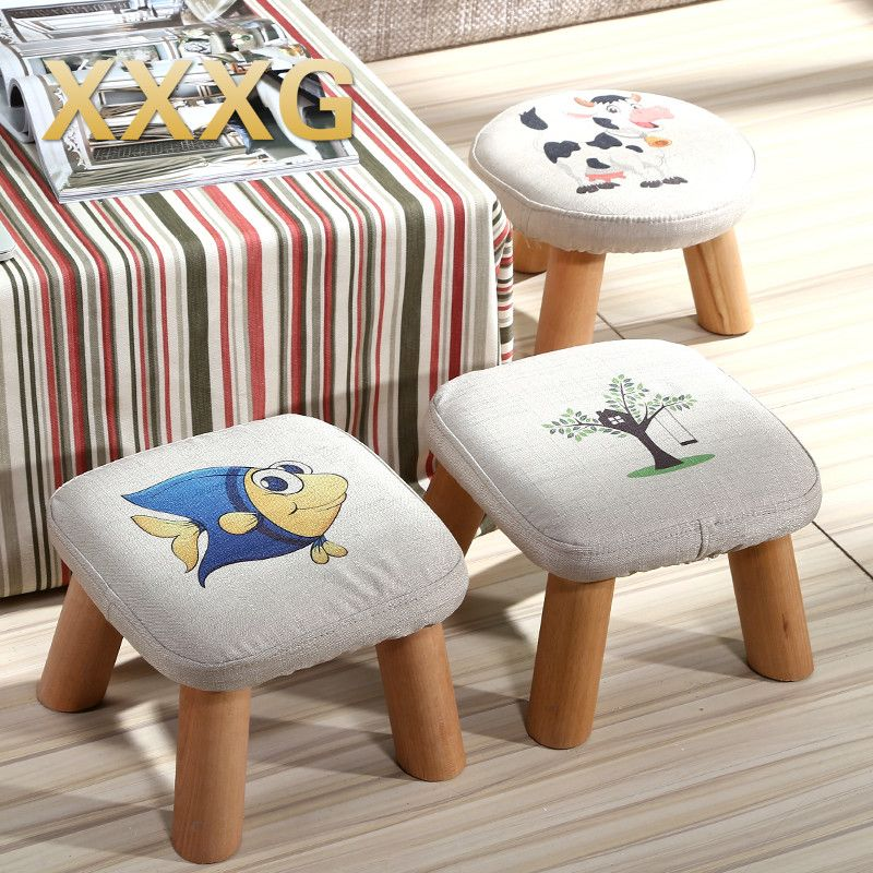 ... From China Stool Wood Suppliers: XXXG//Short Board Stool For Shoes For  Children And Adults With Small Cloth Wood Chair Sofa Stool Small Wooden  Bench ...
