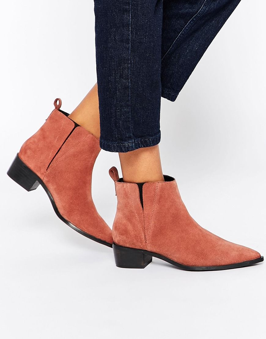 ASOS | Online shopping for the Latest Clothes & Fashion  Pointy BootsSuede  Ankle