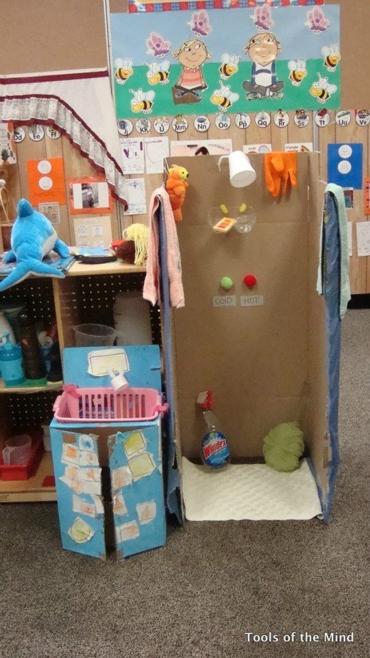 Bathroom Tools of the Mind Family Theme | Dramatic Play PK ...