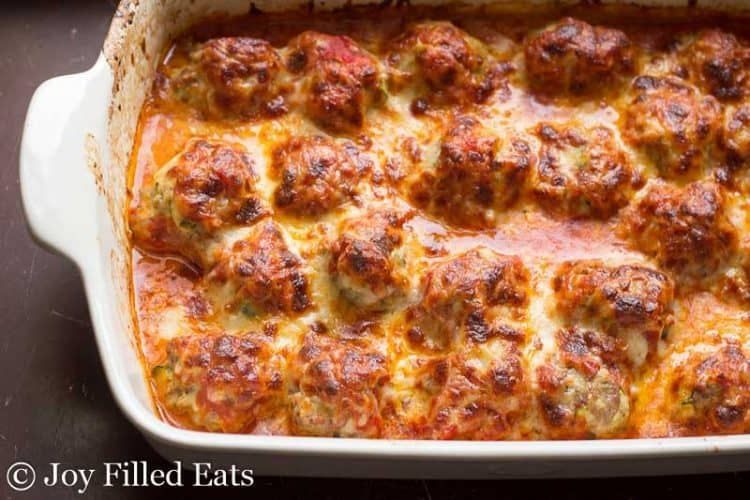 Low Carb Meatball Casserole Recipe Keto Recipes Easy Low Carb