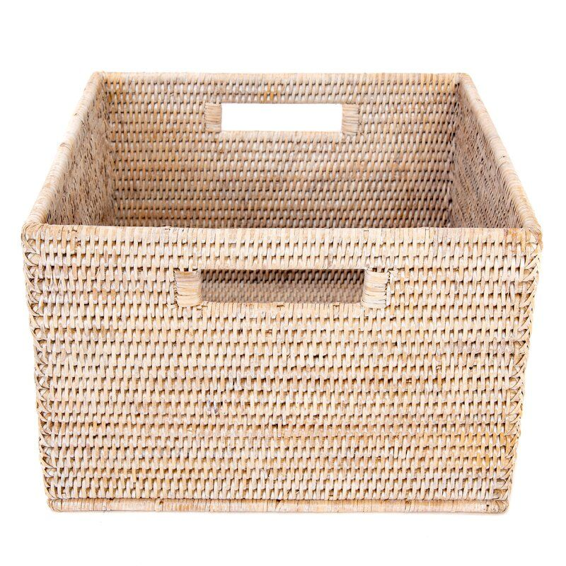 Storage Rattan Basket