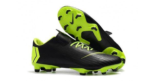 9a40c7b0f59ef Comprar Botas de futbol Nike Mercurial Vapor XII Pro FG Fluo Negro Nuevas  En Línea Sala