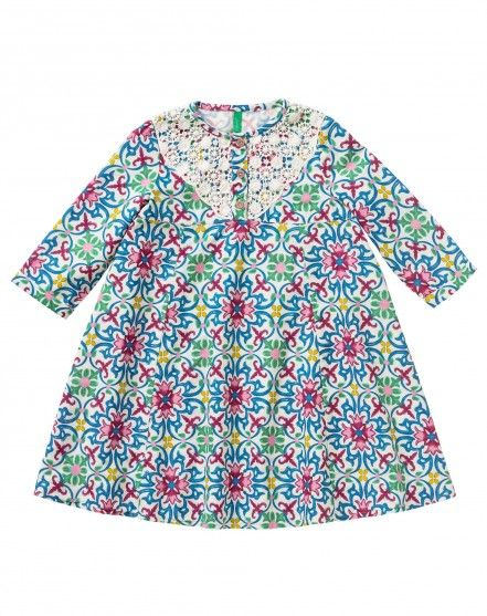 0b5e4a89c0 012 | Girl: Weekend Collection | Dresses, Benetton, Dress patterns