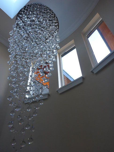 Amazing Staircase Chandelier Liberty Contract Management Inc Grandview Woodlands