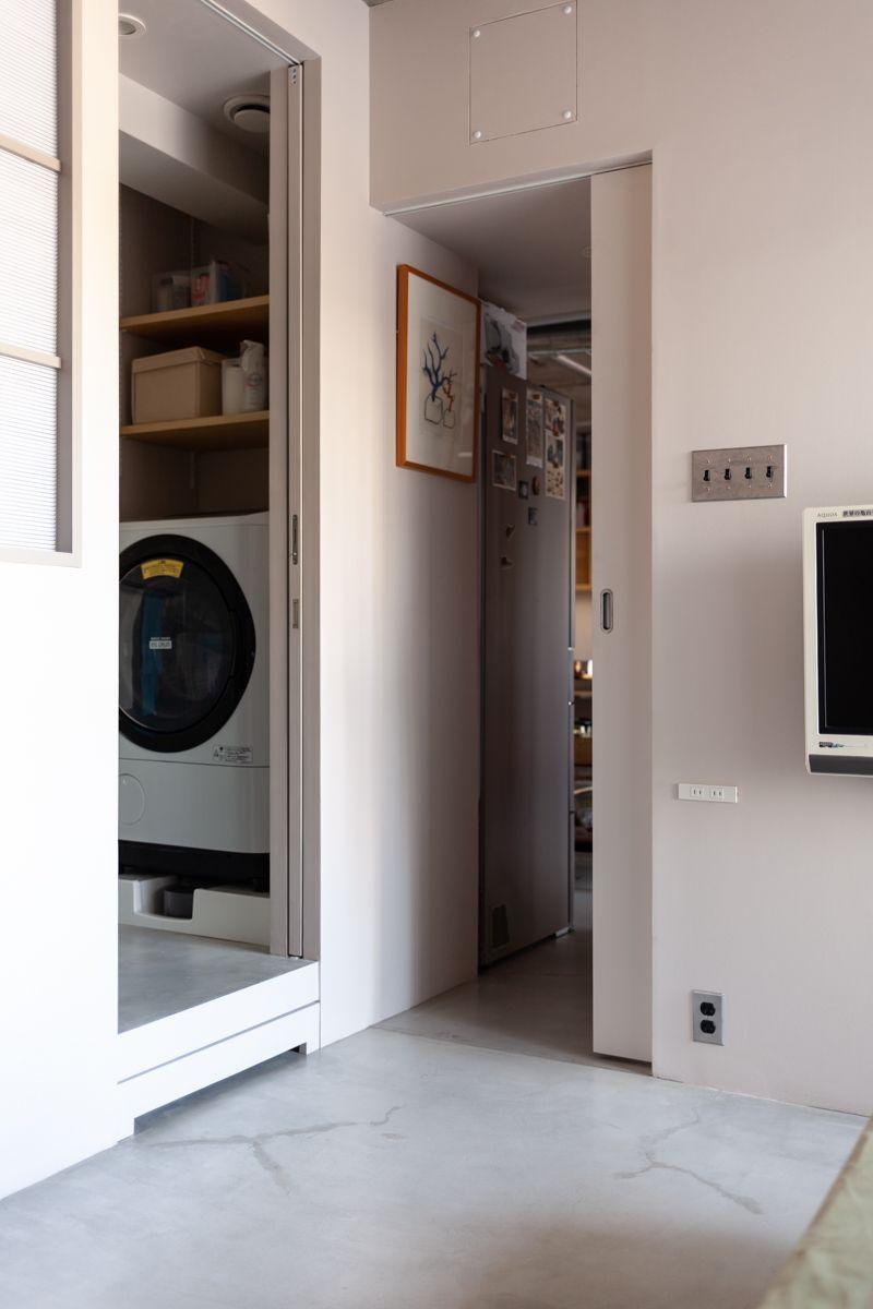 寝室からバスルーム Ecodecoリノベーション 2020 リノベーション 福岡 リノベーション 家