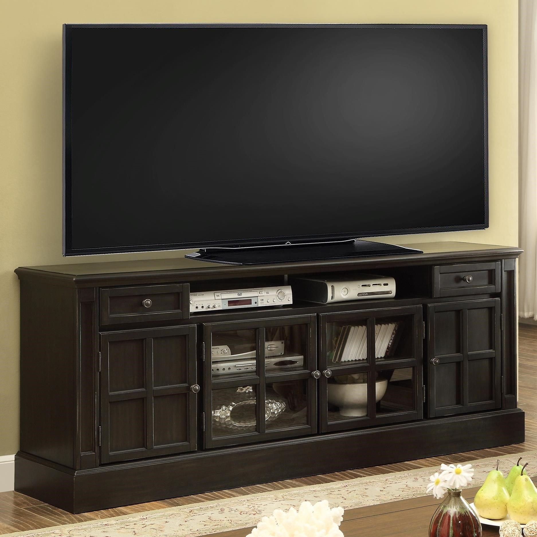 Parker House Concord 72 Tv Console Item Number Con 72 Tv Stand Cool Tv Stands Entertainment Center