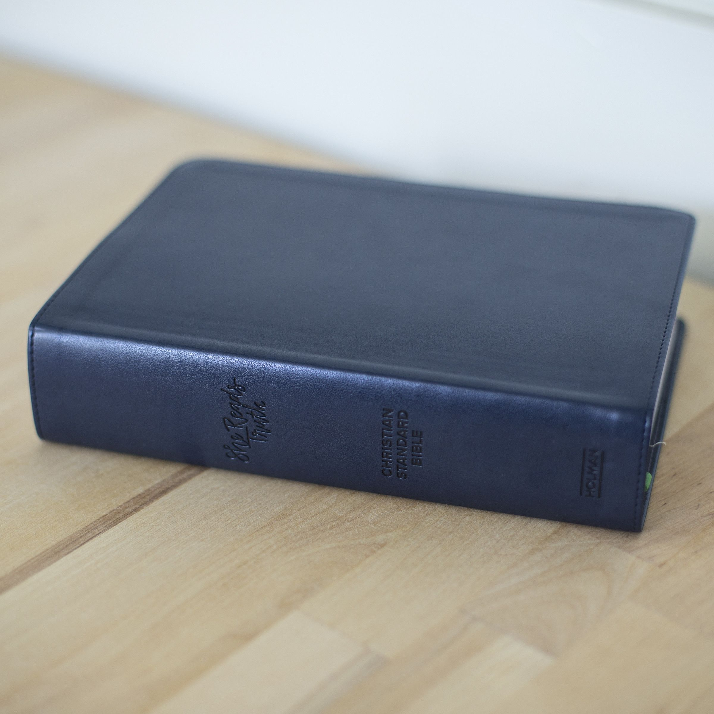 BIBLE | She Reads Truth | Navy Leathertouch | CSB Translation