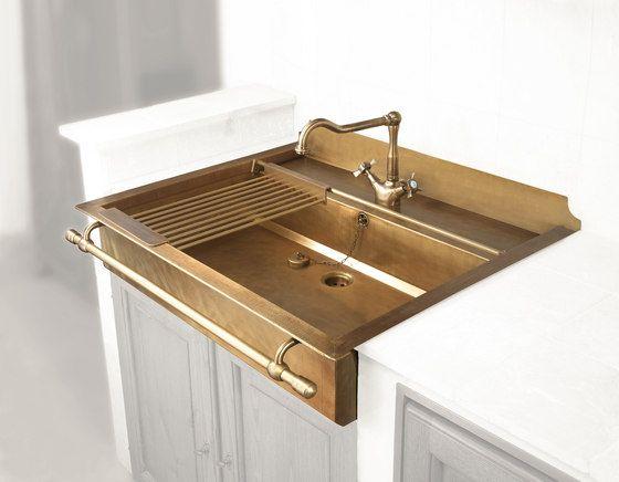 Semi-Recessed Sink by Officine Gullo | Kitchen sinks | agencements ...