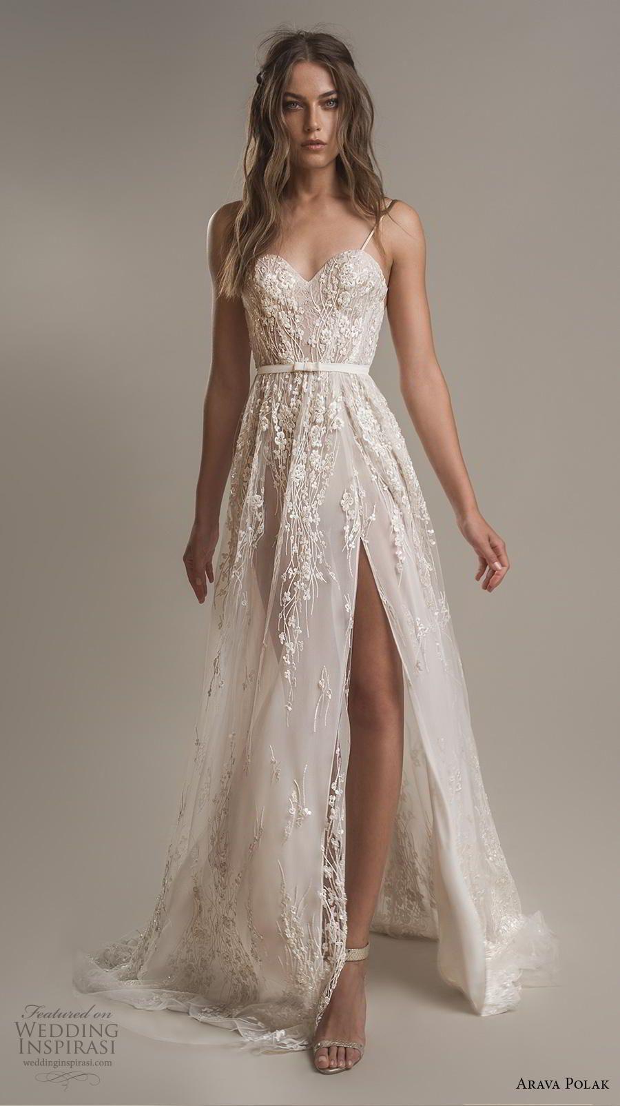 "Arava Polak 2019 Wedding Dresses — ""Winds of Blossom"" Bridal Collection | Wedding Inspirasi"