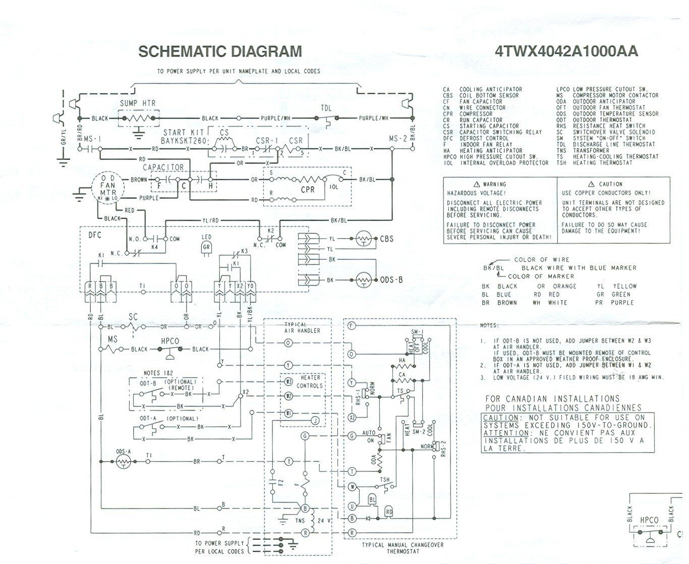 Trane Wiring Diagrams Luxury Weathertron Thermostat Wiring