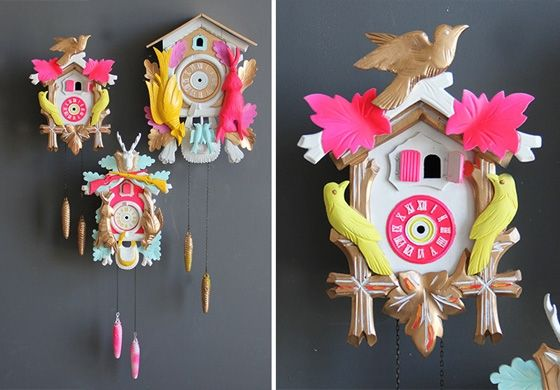 A Little Cuckoo Little Gatherer Crafts Cuckoo Cuckoo Clock