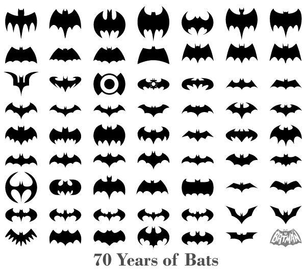 70 Years of Bats – Free Bats Silhouettes Vector   Design Freebies ... b3de6ccdb0