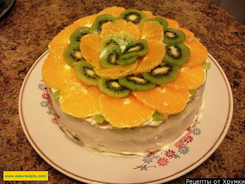 торт на быструю руку в домашних условиях с фото