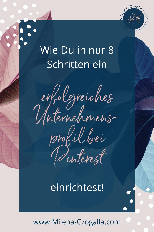 ✓ Pinterest für Anfänger Pinterest Unternehmensprofil einrichten ...