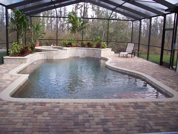 Spellbinding thin brick pavers for pool deck with brick for Pool design pattern